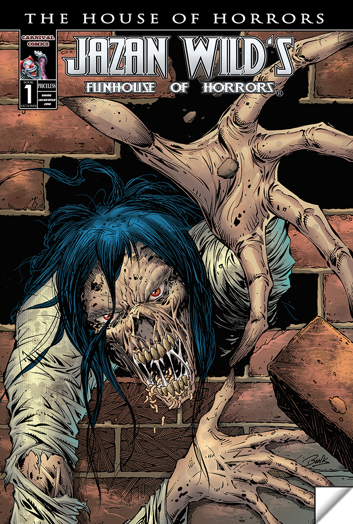 Funhouse Of Horrors Book 1 (The House Of Horrors)