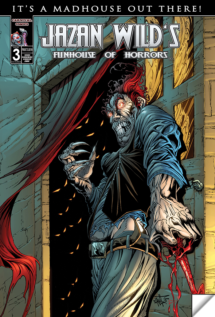 Funhouse Of Horrors Book 3 (It's A Madhouse)